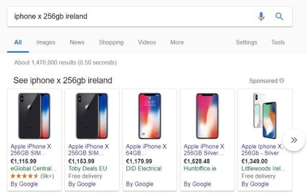 google_merchant_promotion_Iphone_anzeigen