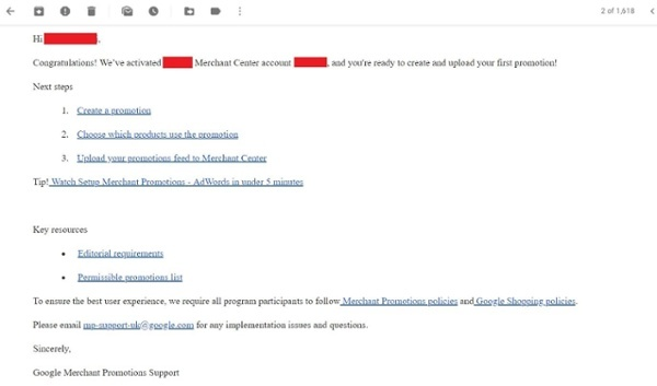 google_merchant_promotions_antwort_email