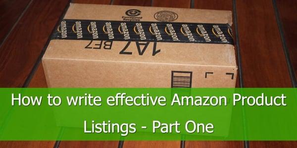 write-amazon-product-listings