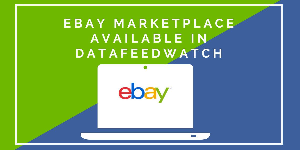 eBay Marketplace verfügbar bei DataFeedWatch