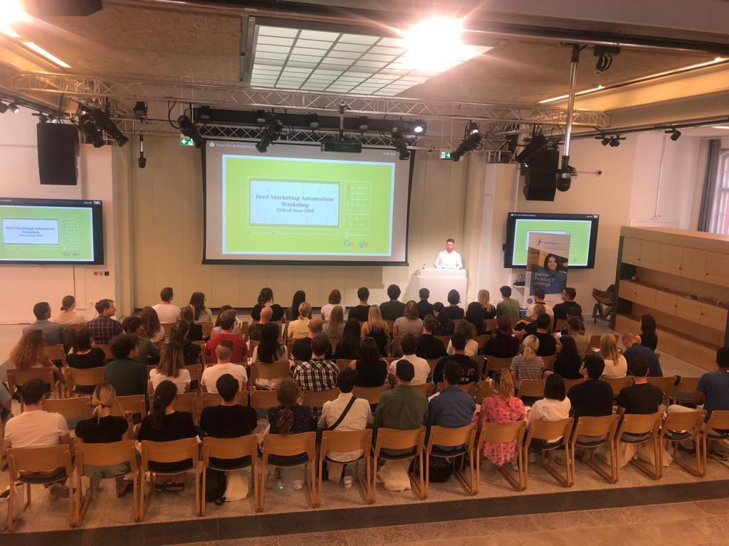 Google-Event zur Feed-Marketing-Automatisierung in Berlin